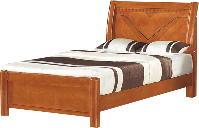 甜蜜之家 实木sh-8113床海棠木框架结构现代中式 床