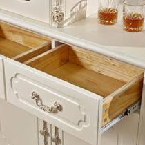 间厅柜哑光门厅人造板框架结构橡胶木拆装欧式 装饰柜