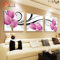 平面无框植物花卉简约现代喷绘 无框画