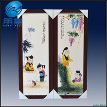陶瓷田园 pybh034瓷板画