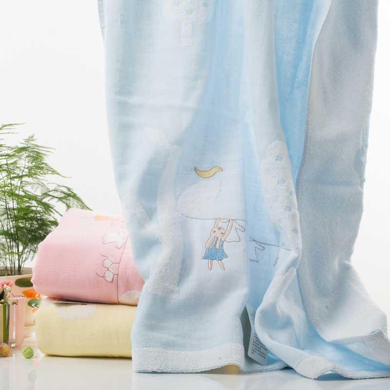 双灯 纯棉 YX-1093-1浴巾