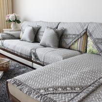 布纯色组合沙发欧式 沙发垫