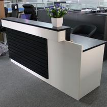人造板散装长方形 Q10接待台
