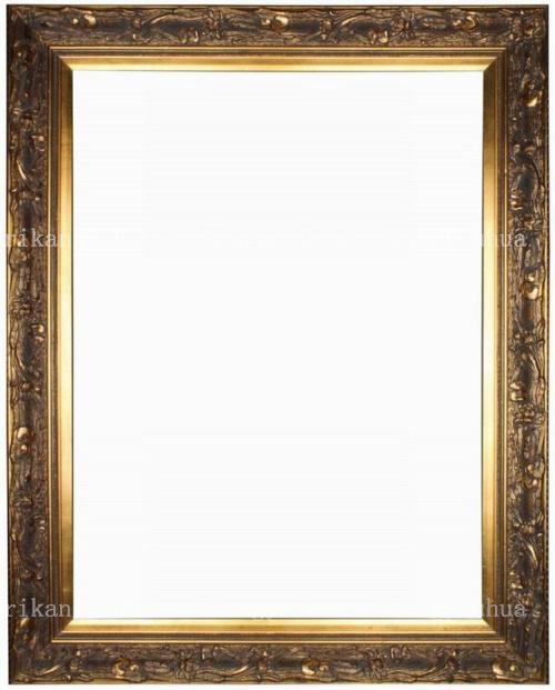 rikang 如图木相框长方形欧式 相框