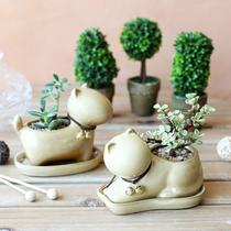 陶瓷田园 花盆