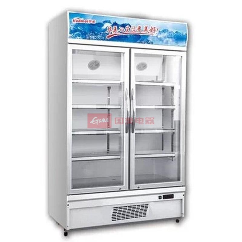 华美 白色冷藏机械式定频直冷无 冷柜