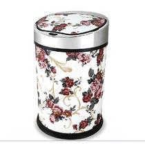 家庭使用皮革圆桶形 感应垃圾桶感应垃圾桶