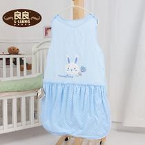 蓝色粉色黄色棉布棉花 婴儿睡袋