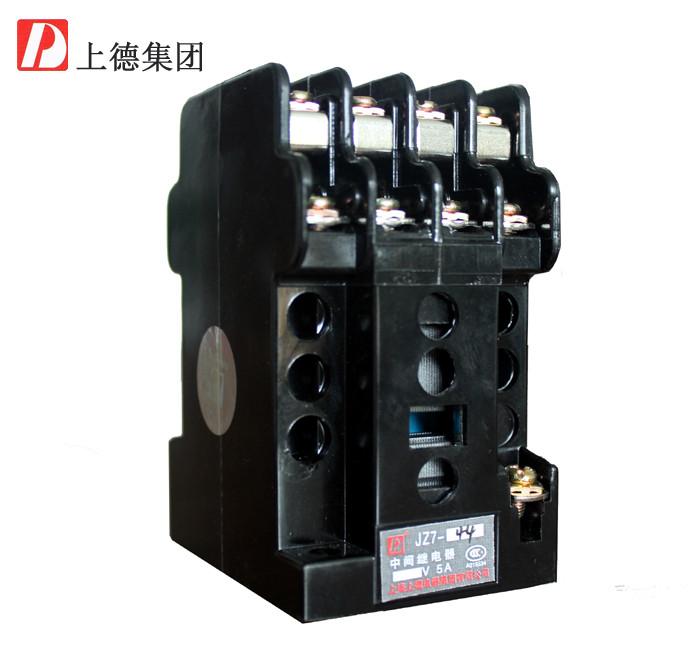创德利 转换型 中间继电器 JZ7-44 220V继电器