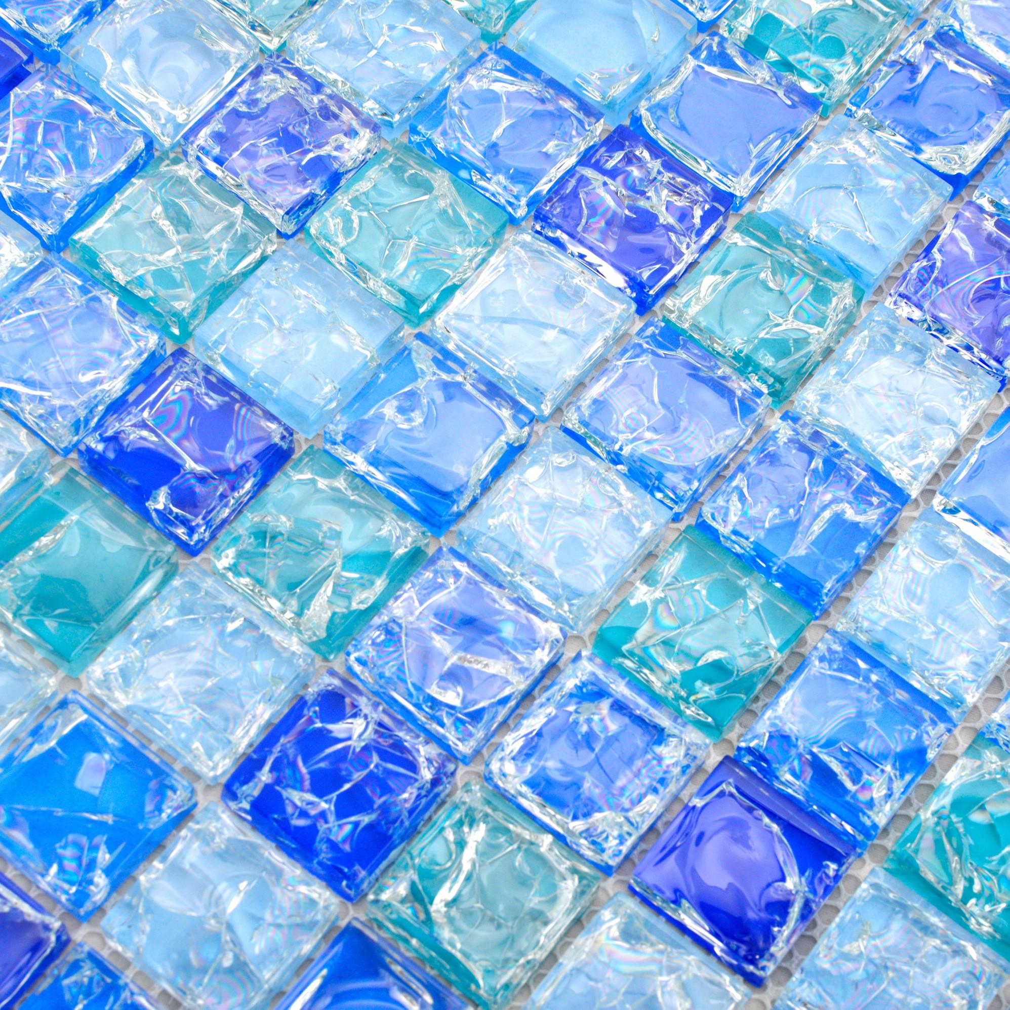紫精灵马赛克 玻璃内墙地中海 x6025瓷砖价格,图片