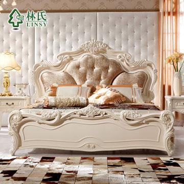 组装式架子床欧式图片