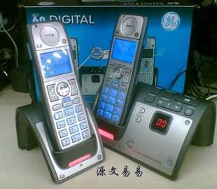 通用电气 通讯录模拟无绳 HWDCD2266(22521)P/TSD电话机