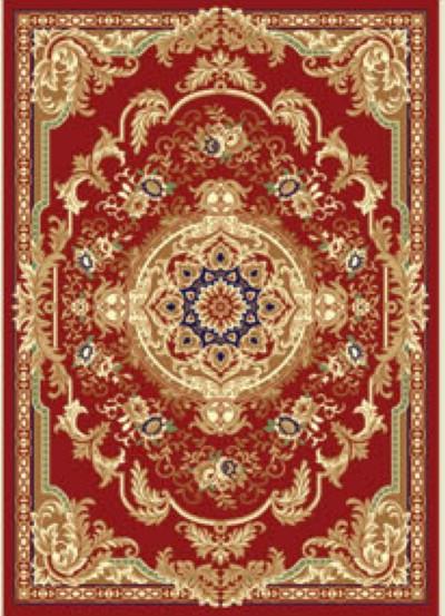 华德 化纤可手洗现代中式丙纶喜庆长方形中国风机器织造 WK004-1Z地毯
