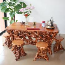 香樟木艺术 功夫茶桌