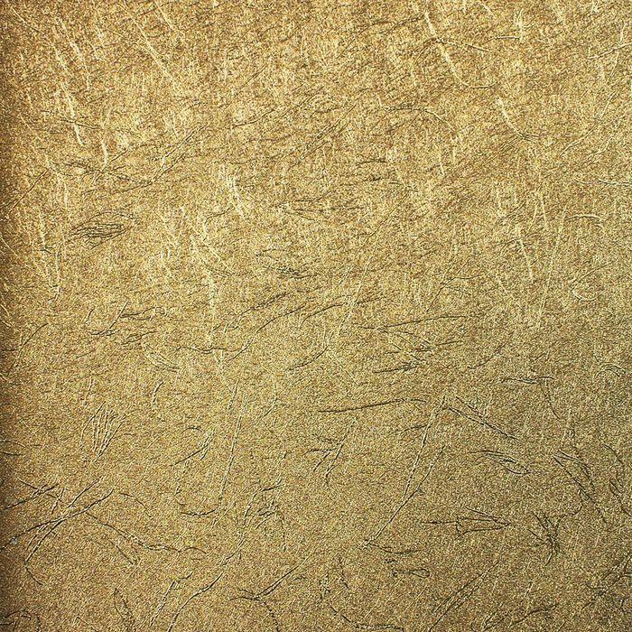 布吕克纳 纯色纹理金箔墙纸反光有图案客厅明清古典 墙纸
