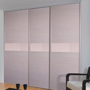 索菲亚 柜门/平米人造板密度板/纤维板三聚氰胺板推拉上下滑移门成人简约现代 衣柜