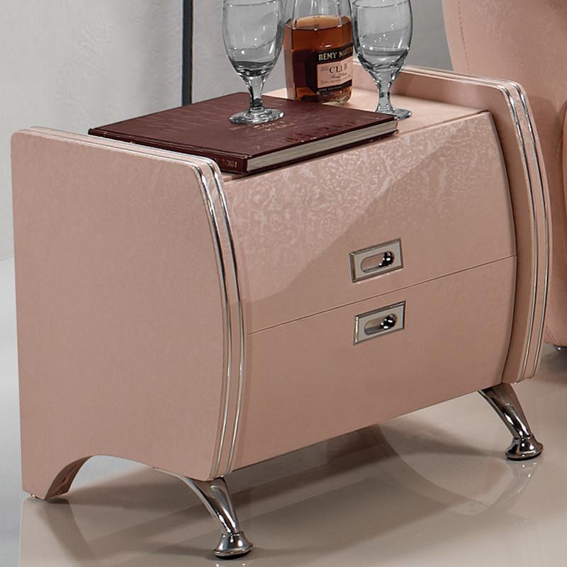 施柏耐 根据床配色人造板密度板/纤维板皮革箱框结构成人简约现代