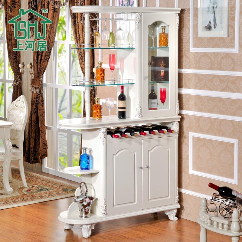 哑光门厅酒柜酒架玄关柜人造板橡木储藏抽象