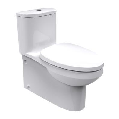 美标 白色直冲式地排水连体式 美标CP-2090马桶