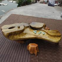 油漆工艺喷漆雕刻 11000C5Z1600功夫茶桌
