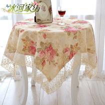 混纺植物花卉田园 桌旗