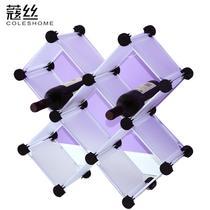 梦之蓝天使白塑料工艺框架结构折叠置地用抽象图案简约现代 KW20CD架