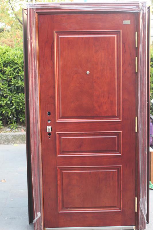 步阳 钢木推拉 钢木装甲门门