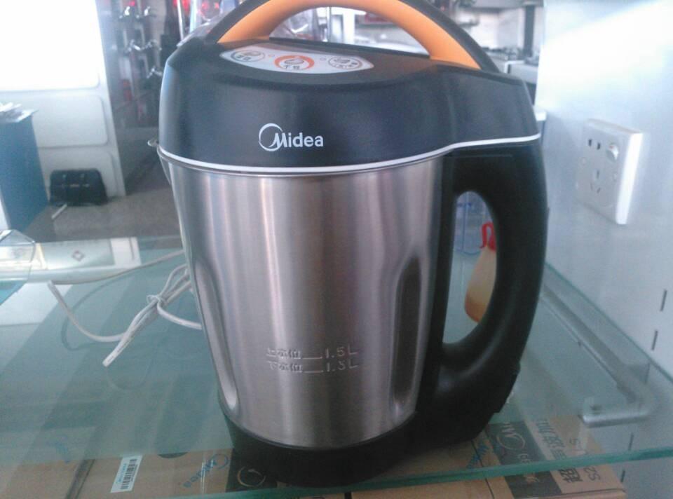 美的 黑色不锈钢1.5L DS15A21豆浆机