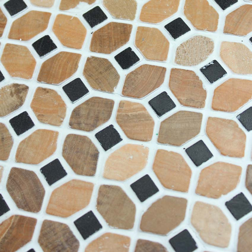 华铄牌 天然石材 木纹黄大理石内墙欧式 瓷砖价格