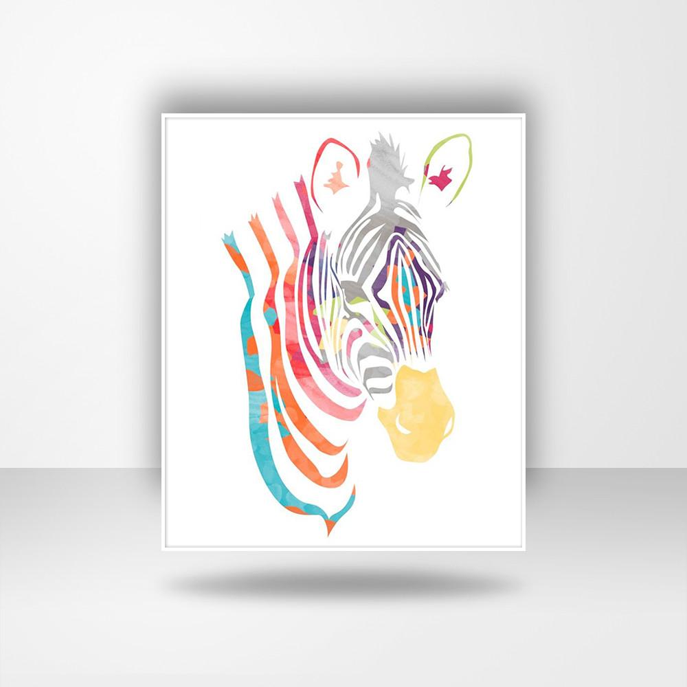 装饰纹样动物画