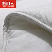 白色超细纤维冬季化纤 被芯