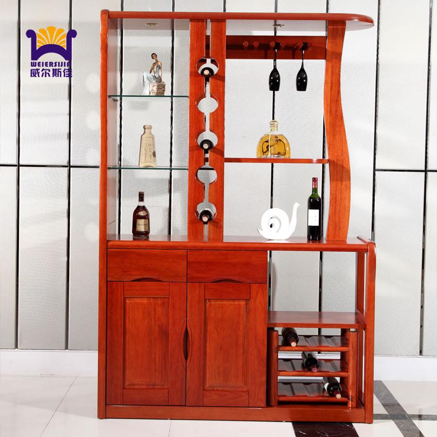 简单大方酒柜结构图