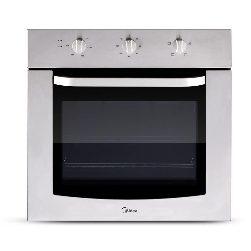 美的 白色全国联保机械式卧式 MT10KC-AW电烤箱