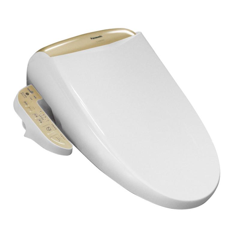 松下 银白色抗菌材质抗菌工艺智能盖板 松下洁乐(Panasonic)洁身器ME45马桶
