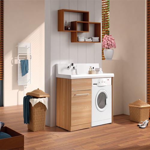 规格参数 长度 91cm(含)-120cm(含) 风格 欧式 组合形式 含带洗衣机柜