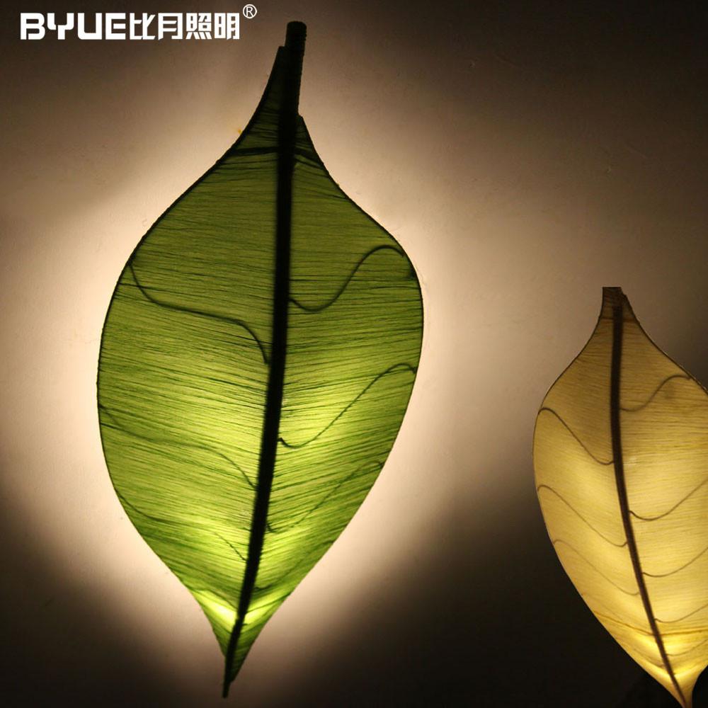 比月 布铁现代中式手工编织节能灯led 吸顶灯