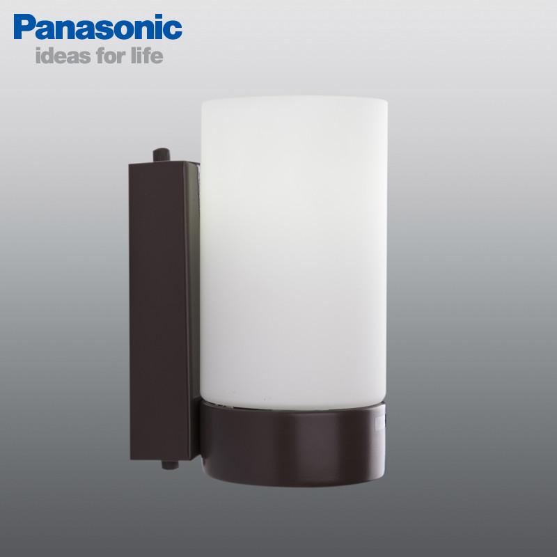 松下 玻璃简约现代白炽灯节能灯 松下LBC86109壁灯