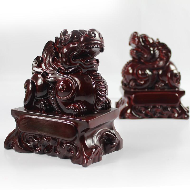 家兴旺 树脂动物桌面摆件招财现代中式 摆件