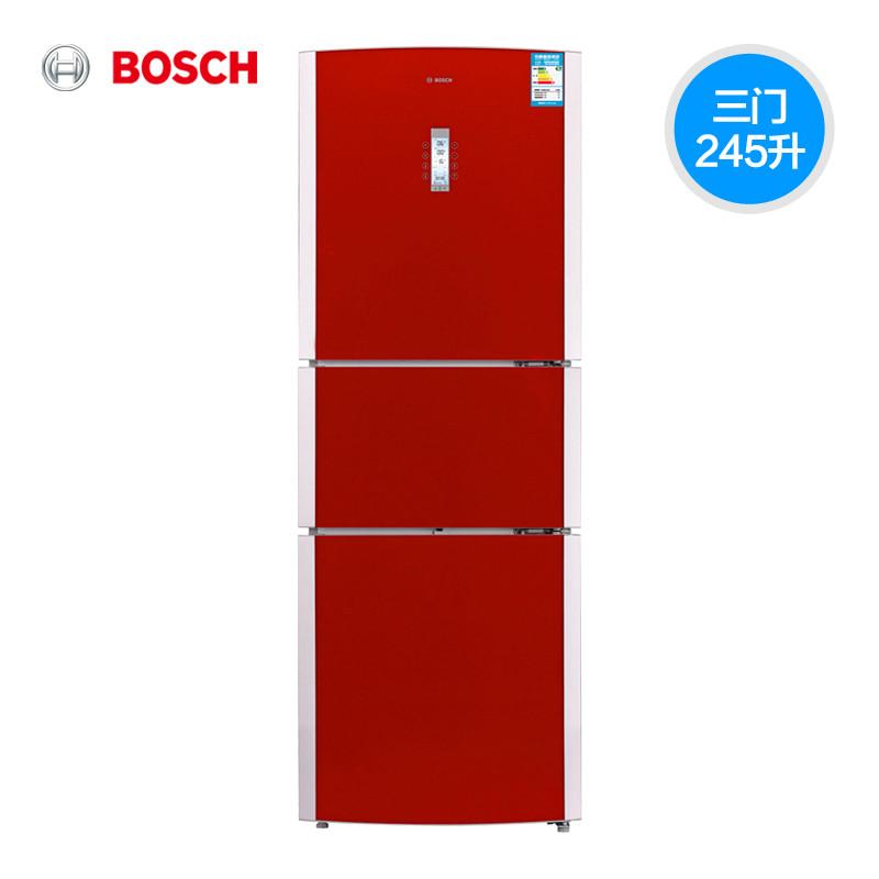 博世 三门式冷藏冷冻bcd-245(kkf25986ti)冰箱 冰箱