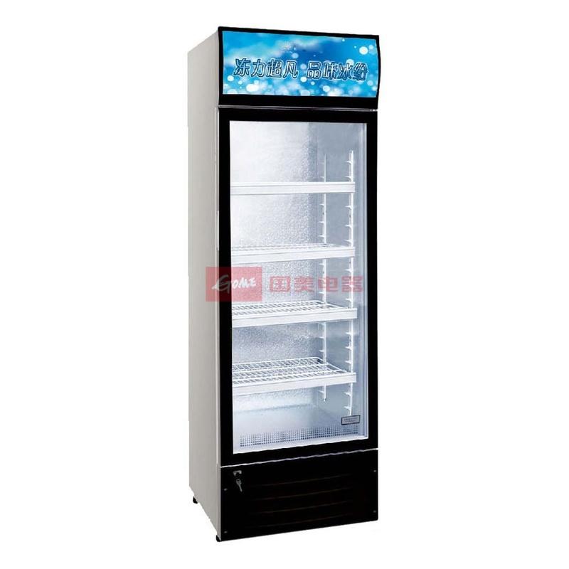 华美 黑色直冷机械式定频冷藏 冷柜