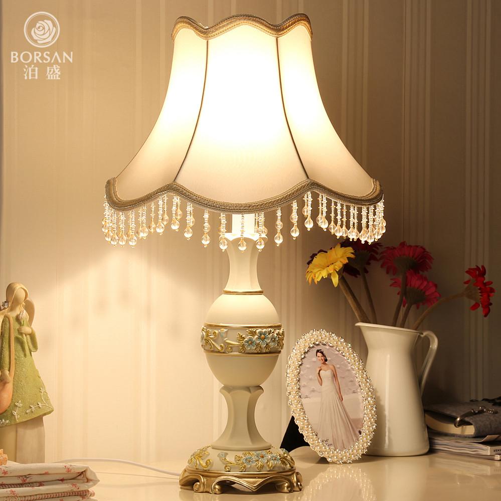 泊盛 布树脂欧式雕刻 u6台灯