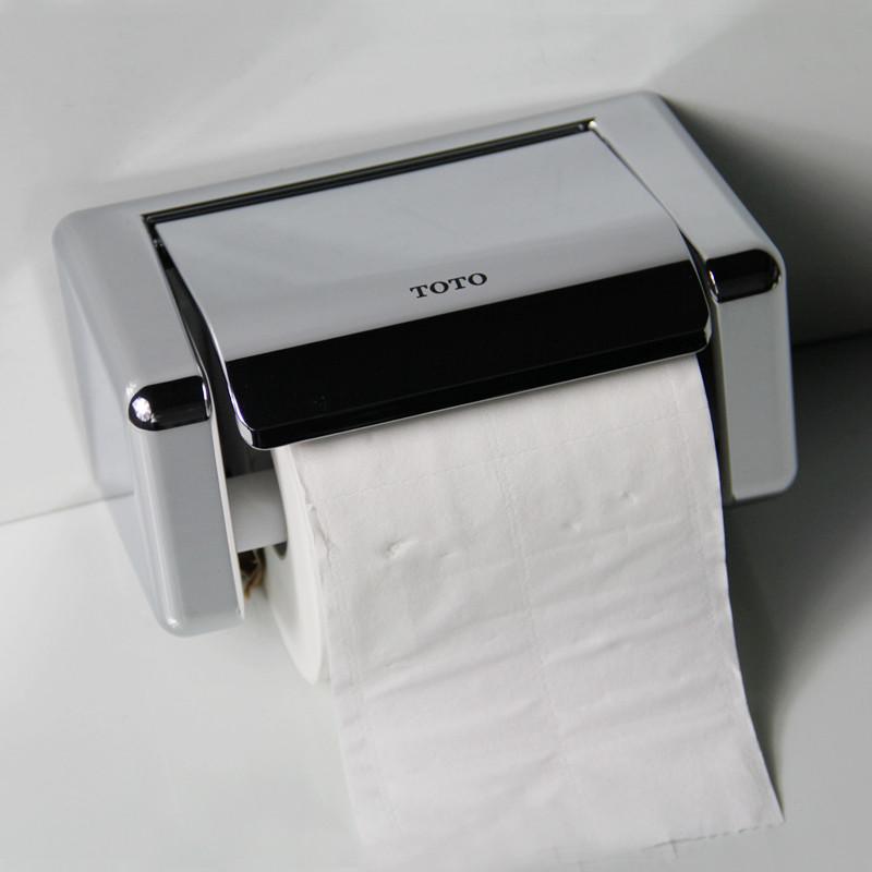 TOTO 塑料下开口抽纸卷纸 置物架纸巾架