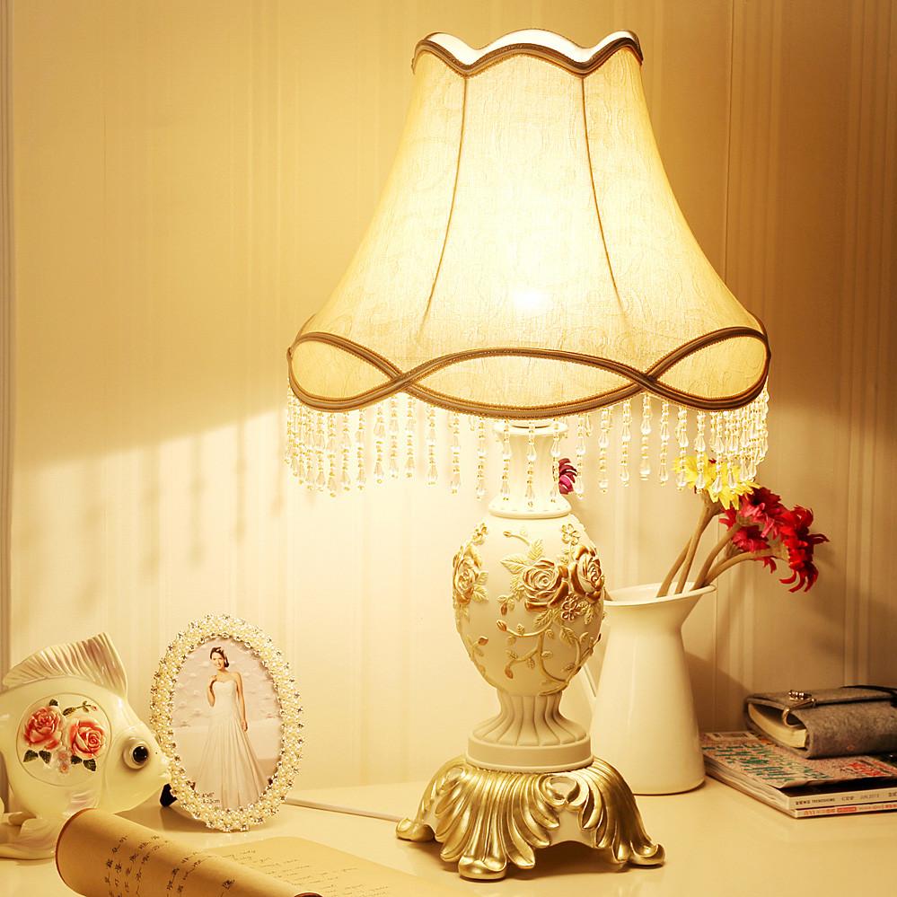 泊盛 布树脂欧式雕刻 u12台灯