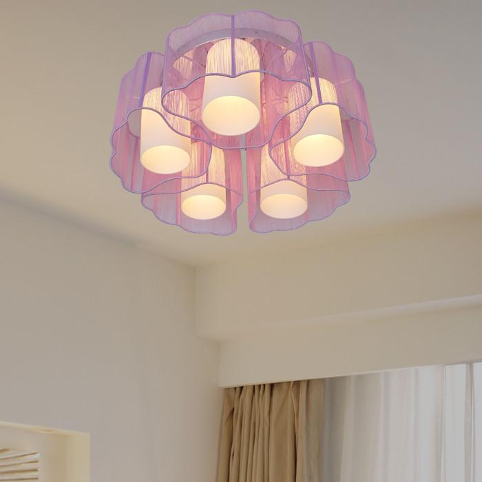 梵希 简约现代手工编织节能灯led 吸顶灯