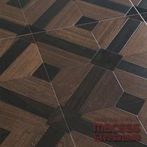 黑色高密度纤维板R型槽 地板