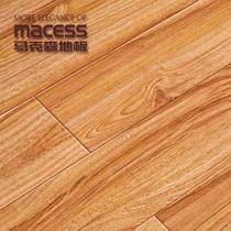 浅黄色高密度纤维板R型槽 地板
