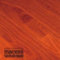 红色香脂木豆单锁口A类实木复合地板 地板