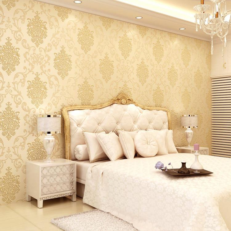 图尚 有图案客厅书房卧室婚房欧式 墙纸