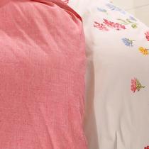 棉布斜纹布植物花卉简约现代 BT2013被套