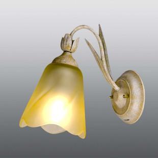 松下 玻璃简约现代白炽灯节能灯 松下HEWC1033壁灯